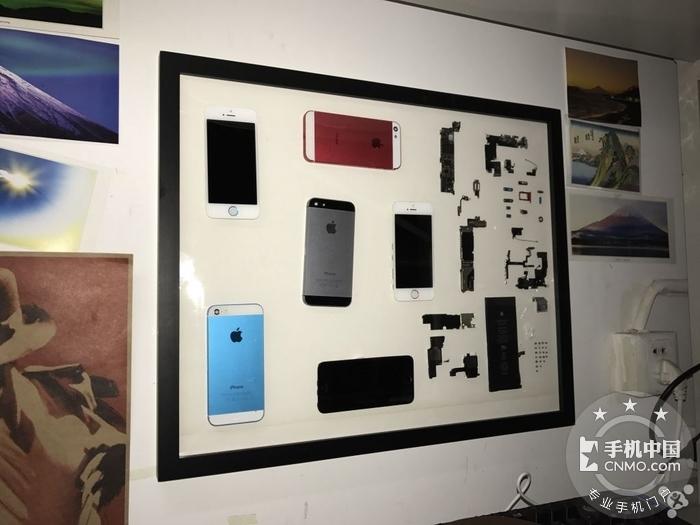 将旧iphone装到相框里