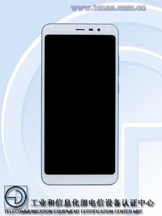 海信公司申请的代号为hlte300t的全面屏手机的证件照,从图中可以看到